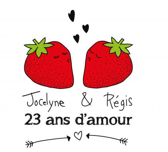 l'amour des fraises