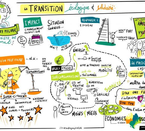 Transition écologique et solidaire, Audrey Pulvar conférence